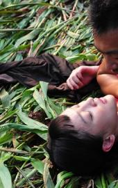 电视剧《红高粱》:周迅激情戏的诱惑力度