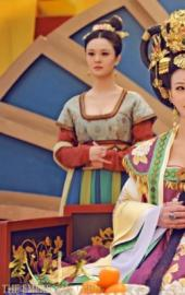 电视剧《武媚娘》剧组美女身材波涛汹涌 摄影师拍到流鼻血